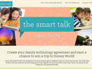 Smart Talk Giveaway Sweepstakes