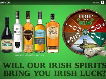 Irish to the Core Sweepstakes