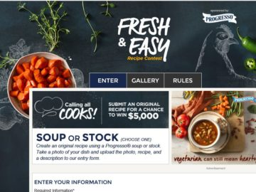 the food network fresh easy recipe contest