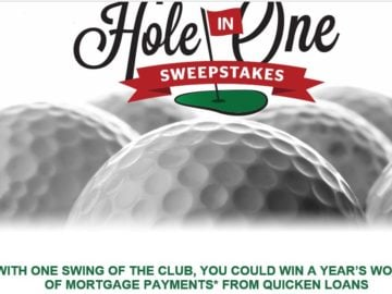 The Quicken Loans Hole-In-One Sweepstakes