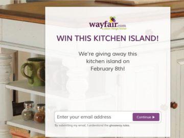 Wayfair Giveaway Sweepstakes