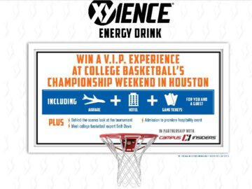 XYIENCE'S College Basketball Experience Sweepstakes