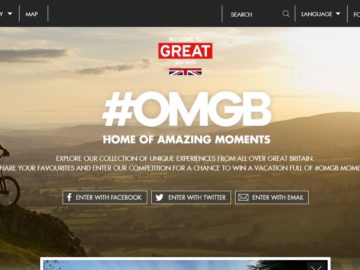 Visit Britain #OMBG Sweepstakes
