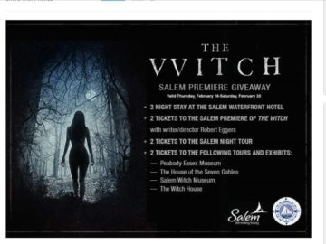 """The AMC """"THE WITCH"""" Giveaway Sweepstakes"""