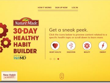Nature-Made 30-Day Healthy Habit Builder Sweepstakes