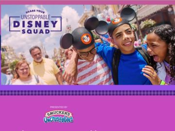 Disney Share Your Unstoppable Disney Squad Sweepstakes