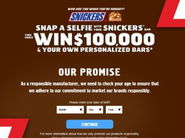 "The SNICKERS ""Who Are You When You're Hungry?"" Sweepstakes"