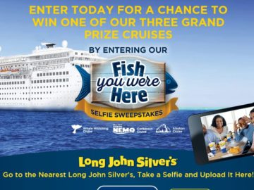 The Long John Silver's Fish You Were Here Sweepstakes