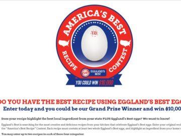 "The 2016 Eggland's Best ""America's Best Recipe"" Contest"