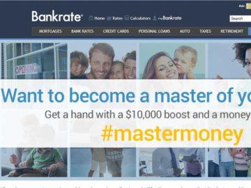 Bankrate.com #mastermoney Money Makeover Contest