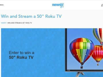 The Newsy Win & Stream Sweepstakes