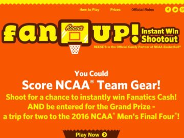 Reese's Fan Up Sweepstakes