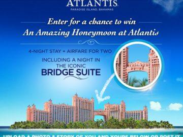 The Love Atlantis Honeymoon Contest