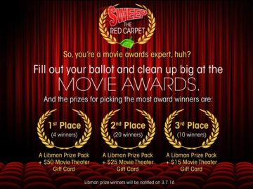 "The Libman ""Sweep the Red Carpet"" Sweepstakes"