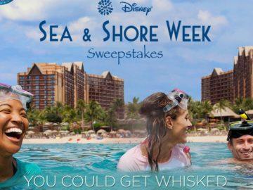 The Disney Sea & Shore Week Sweepstakes