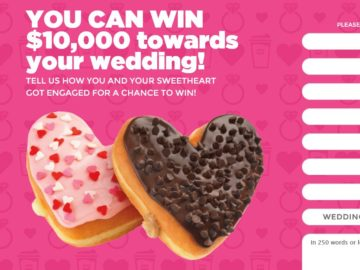 The Dunkin' Donuts Hearts Love Contest