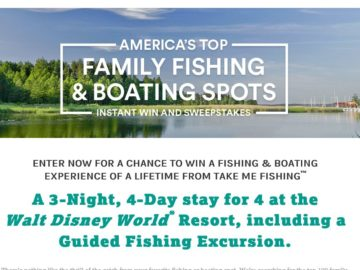 The America's Top Family Fishing & Boating Spots Sweepstakes