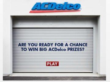 2016 ACDelco Garage Sweepstakes