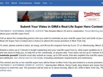 GMA's Real-Life Super Hero Contest