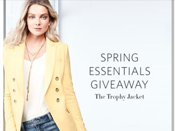 """White House Black Market """"Spring Essentials Giveaway"""" Sweepstakes"""