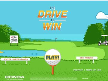 The 2016 Honda Classic Drive To Win Sweepstakes