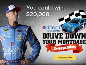 "The Ditech ""Drive Down Your Mortgage"" Sweepstakes"