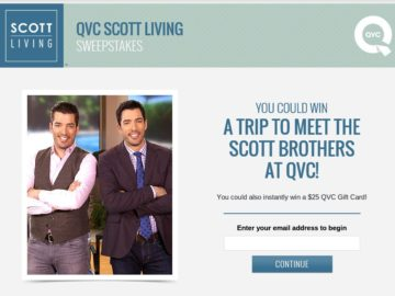 The QVC Scott Living Sweepstakes