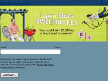 The Valpak Lawn Stars Sweepstakes