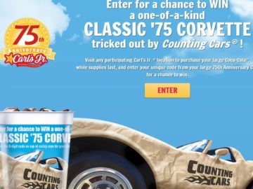 The Carl's Jr. 75th Anniversary Sweepstakes