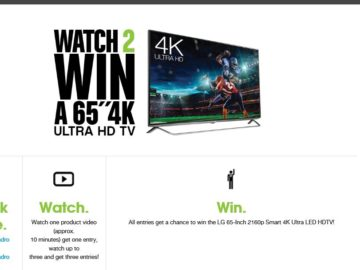 "PNY ""Watch and Win"" Sweepstakes"