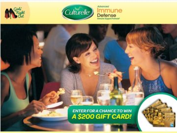 Culturelle Advanced Immune Defense Girls' Night Out Sweepstakes