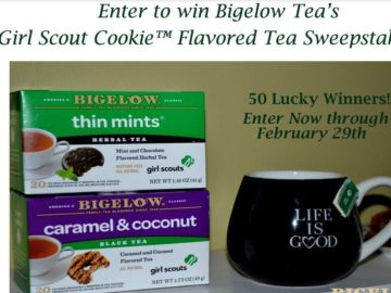 The Bigelow Tea Girl Scouts Cookie Flavored Teas Sweepstakes