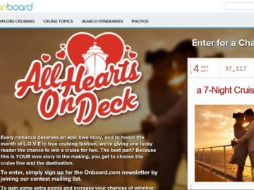 The All Hearts on Deck Sweepstakes