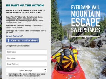 The 2016 EverBank Vail Mountain Escape Sweepstakes