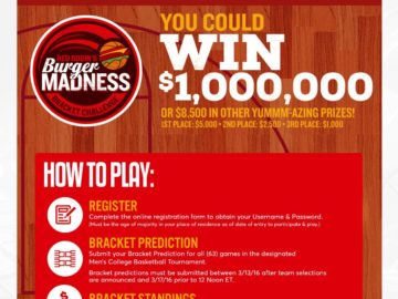 Red Robin Bracket Challenge Sweepstakes