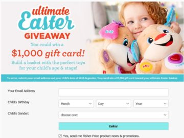 The Fisher-Price Ultimate Easter Giveaway Sweepstakes