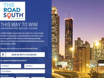 The Belk Road South – Atlanta Shopping Trip Sweepstakes