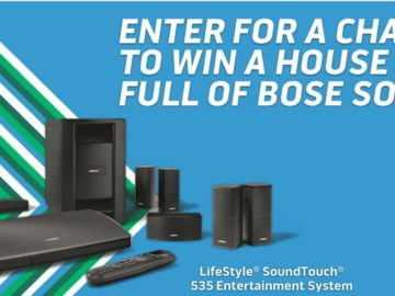 """The Bose """"House Of Sound"""" Sweepstakes"""