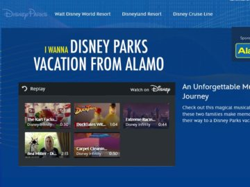 Alamo Disney Parks Vacation Sweepstakes