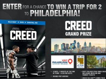 The Warner Bros. Creed Sweepstakes
