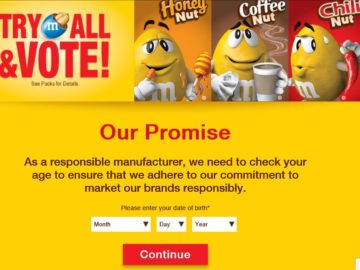 The M&M'S Brand 2016 Flavor Vote Sweepstakes