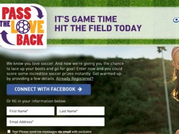 Pass the Love Back Sweepstakes