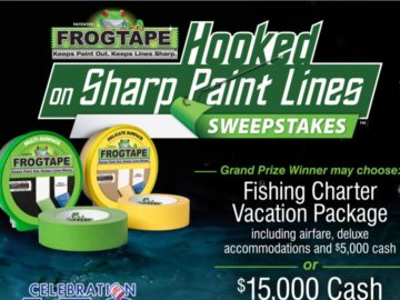 FrogTape Hooked on Sharp Paint Lines Sweepstakes