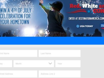 """Destination America and USA Today """"Red, White and You"""" Contest"""