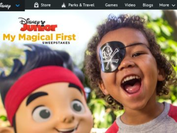 Disney Junior My Magical First Sweepstakes