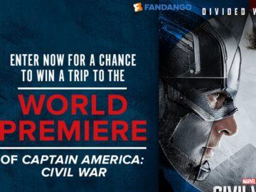Captain America: Civil War Sweepstakes