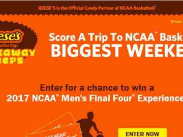 Reese's Peanut Butter Cup Breakaway Sweepstakes
