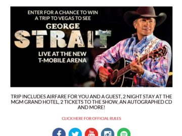The George Strait Sweepstakes