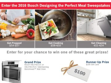 bosch cash sweepstakes