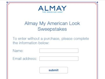Almay My American Look Sweepstakes